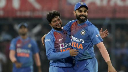 Kuldeep breaks Harbhajan's record with match-winning display in 2nd ODI