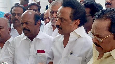 DMK-Congress rift blows over after TNCC prez Alagiri calls on Stalin