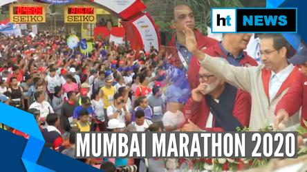 Mumbai Marathon 2020: Thousands participate, Uddhav Thackeray flags off Dream Run