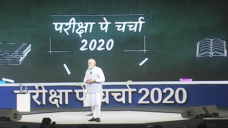 Pariksha Pe Charcha 2020 LIVE: PM Modi starts interacting with students