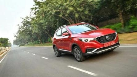 MG ZS EV gets more orders in 27 days than all EVs sold in India in 2019