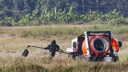 Bomb squad neutralises live explosive in unclaimed bag at Mangaluru airport