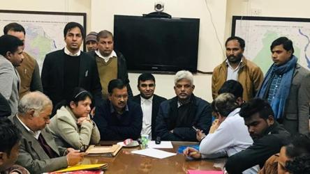 Arvind Kejriwal's nomination filing delayed, AAP blames BJP