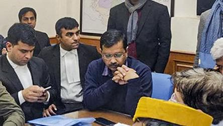 Kejriwal files his nomination for Delhi elections after a 6-hour long wait