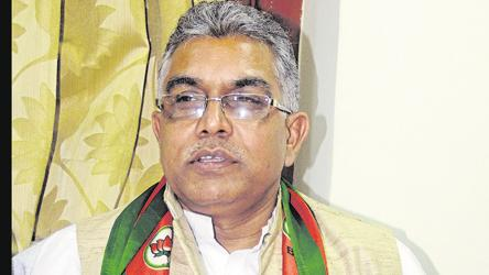 Bengal BJP chief Dilip Ghosh predicts 'TMC's fall in 2021'