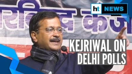 Caste-based politics won't work: Arvind Kejriwal ahead of Delhi polls