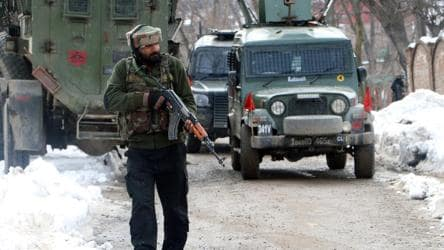 JeM's Kashmir chief among 3 killed in Pulwama encounter: Army