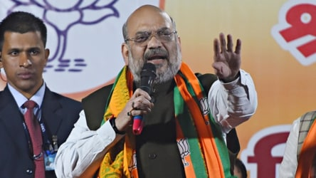 'Leave him, leave him': Amit Shah as crowd pummels man for anti-CAA slogans