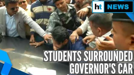 Calcutta University's protesting students force Governor to skip convocation
