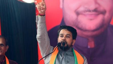 EC orders BJP to remove Anurag Thakur, Parvesh Verma from star campaigners' list