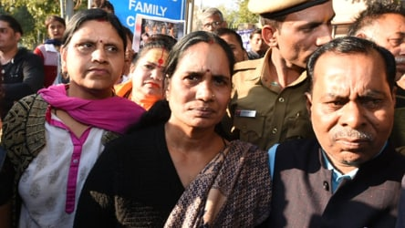 Delhi gang rape victim's mother 'hopeful' convicts are executed on March 3