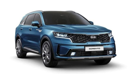 Kia Motors reveals first images of next-generation Sorento SUV