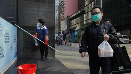 Armed gang steals toilet rolls in Hong Kong hit by coronavirus panic-buying