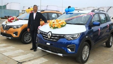 Renault launches 'Made in India' Triber in South Africa