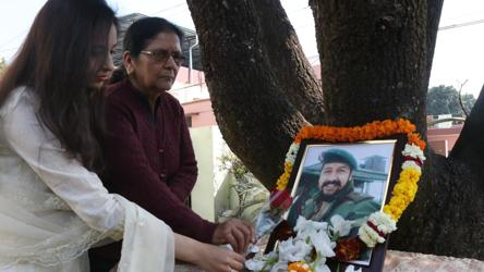 Army officer died fighting terrorists last year. Now, 28-yr-old wife signs up
