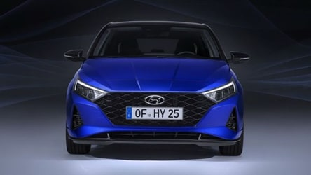 First pictures of the all new Hyundai i20 hatchback released