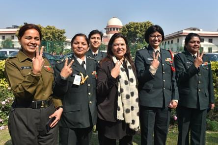 Petitioners hail Supreme Court's 'watershed' order for women in Army
