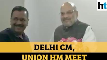 Watch what Arvind Kejriwal said after 1st meet with Amit Shah post-Delhi polls