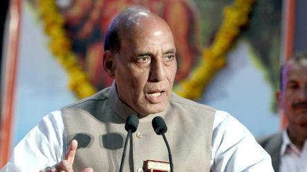Pray for an early release of Mufti, Abdullahs: Rajnath Singh