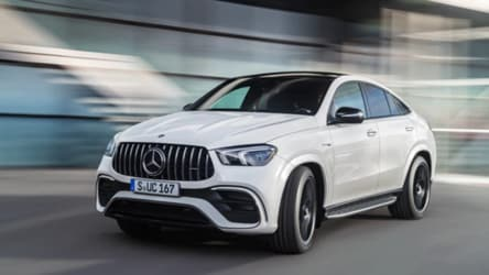 Mercedes-AMG introduces a more powerful 2021 GLE 63 S Coupe
