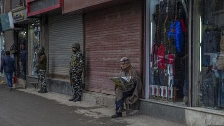 Fear of violence during Trump's visit may have pushed back J-K panchayat polls