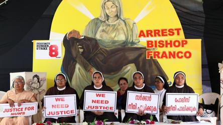 Another Kerala nun accuses deposed Jalandhar bishop of sexual harassment