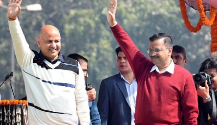 Arvind Kejriwal, Manish Sisodia dropped from Melania Trump school event