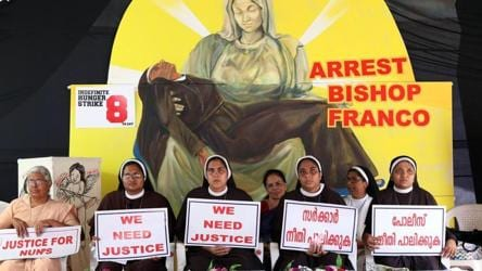 Take action against ex-bishop under Canon laws, Kerala nuns tell church