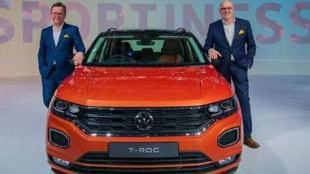 Volkswagen T-Roc SUV launch on March 18, will take on Creta, Seltos and Hector