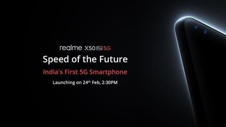 Realme X50 Pro 5G to launch in India today
