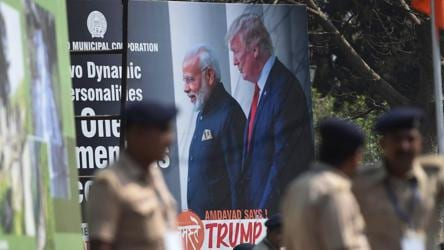 Grand welcome awaits US president Trump as he begins India tour today