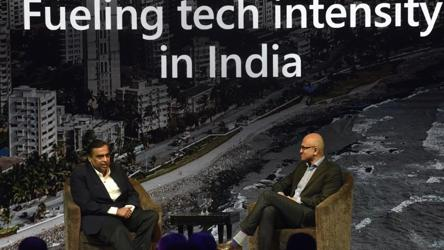 'Reliance Jio and Microsoft will form a defining partnership': Nadella