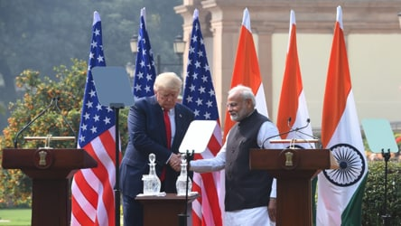 'Big trade deal with US coming up': PM Modi after talks with Prez Trump