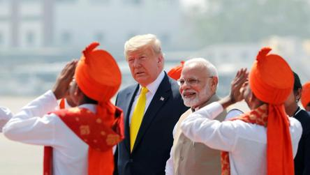 On Day 2 of India visit, Modi and Trump to get down to business
