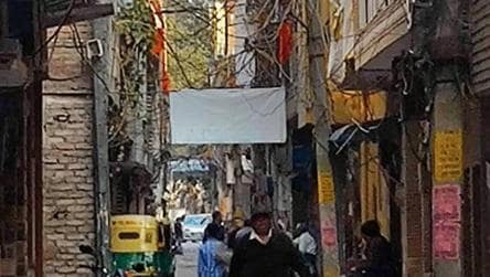 Saffron flags mark Hindu homes, shops in north-east Delhi