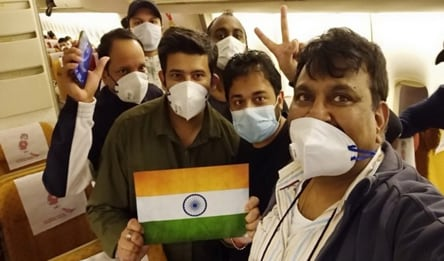 119 Indians, stuck in coronavirus-hit Japan ship for weeks, land in Delhi