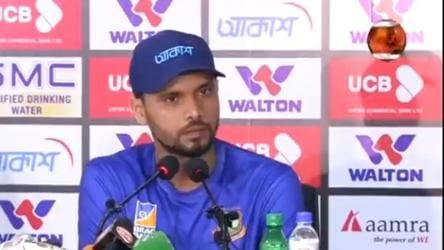 'Am I a thief? Why will I be ashamed?': Mashrafe Mortaza fumes at reporter