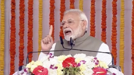 At UP event, PM Modi underlines 'sabka saath, sabka vikas' promise