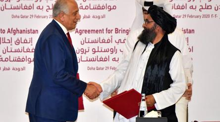 US, Taliban sign peace deal aimed at ending 18 yrs of war Afghanistan