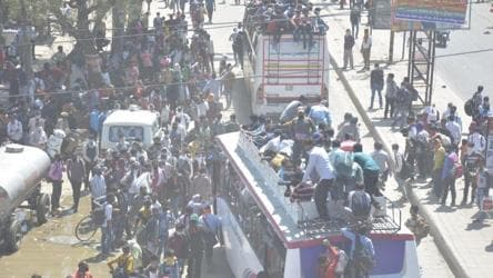 Covid-19: UP ramps up evacuation of workers from Delhi-NCR