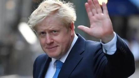 At home with coronavirus, British PM Boris Johnson writes to the nation
