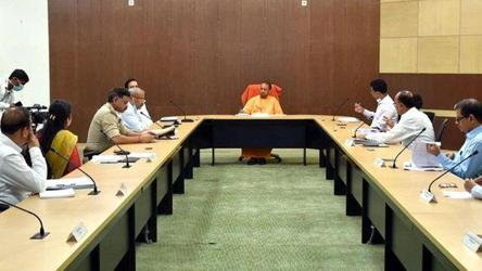 Noida DM goes on leave after CM Yogi's cutting remarks at Covid-19 meet