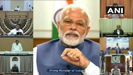 PM, in video call with CMs, bats for staggered relaxations after lockdown ends