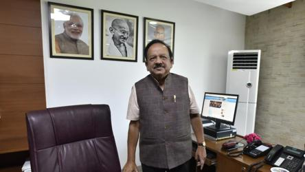 'Biggest challenge is fighting stigma': Dr Harsh Vardhan on Covid-19
