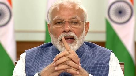 In PM Modi's 11-min message to people in lockdown mode, a pep talk and a task