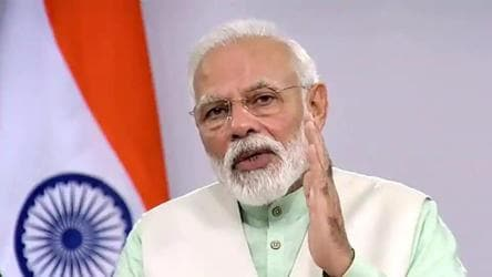 Our workers have toiled to bring positive changes: PM on 40 years of BJP