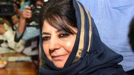 Mehbooba Mufti shifted out of jail, remains in detention at home in Kashmir