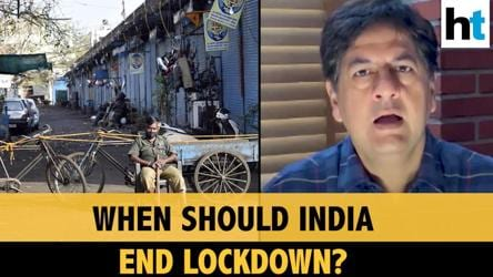Vikram Chandra on when India should end lockdown, & other top news