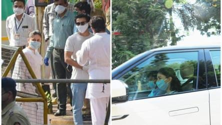 Rishi Kapoor's funeral: Alia Bhatt, Kareena Kapoor, Abhishek ...