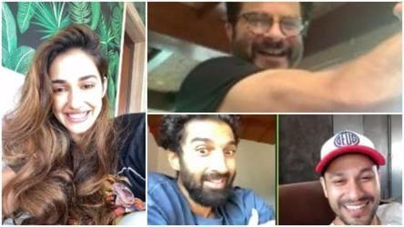 Anil Kapoor Disha Patani Kunal Kemmu And Aditya Roy Kapur Have A Team Malang Reunion Bollywood Hindustan Times